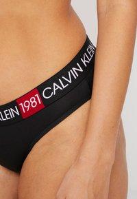 Calvin Klein Underwear - 1981 BOLD COTTON BIKINI - Briefs - black - 4