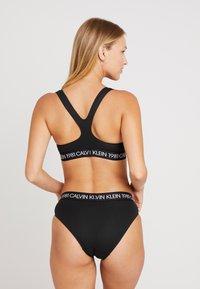 Calvin Klein Underwear - 1981 BOLD COTTON BIKINI - Briefs - black - 2