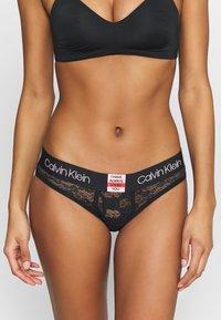 Calvin Klein Underwear - V-DAY CAPSULE - Briefs - black - 0