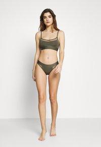 Calvin Klein Underwear - TONAL LOGO NEWNESS - Braguitas - army dust - 1