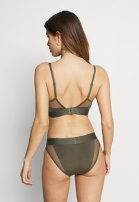 Calvin Klein Underwear - TONAL LOGO NEWNESS - Braguitas - army dust - 2