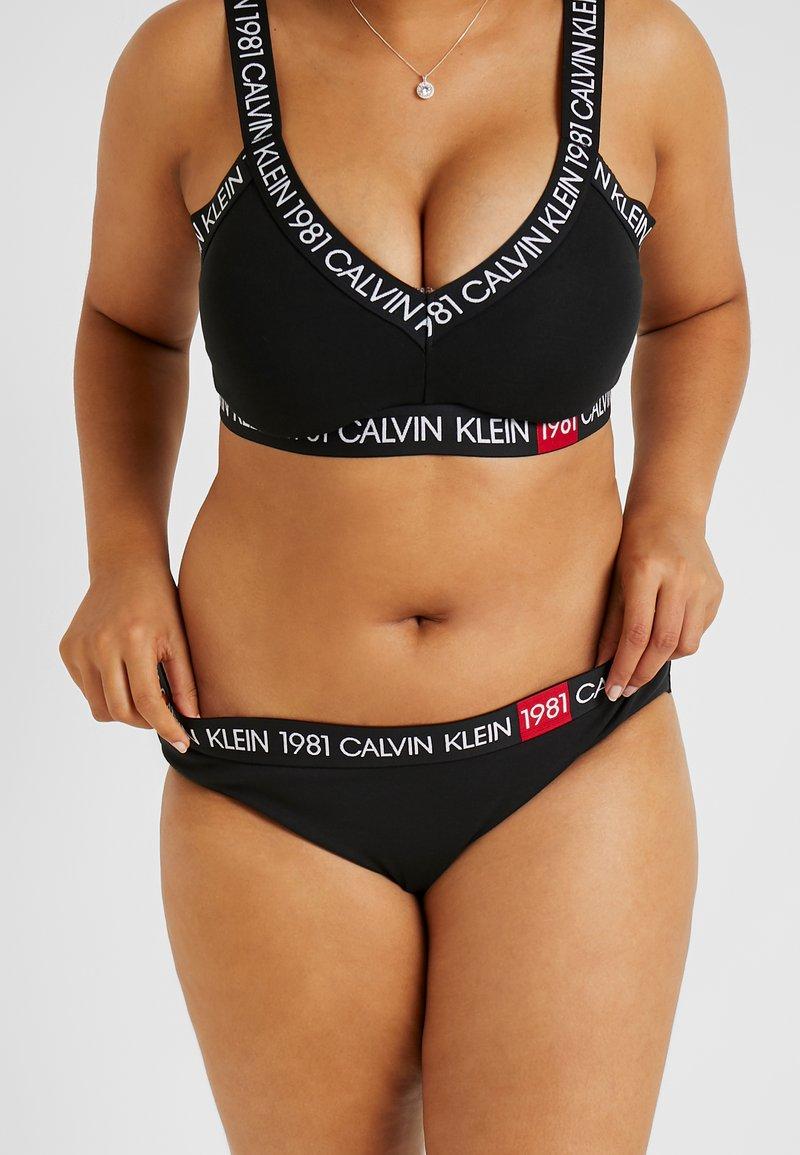Calvin Klein Underwear - BOLD 1981 PLUS SIZE - Slip - black