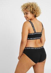 Calvin Klein Underwear - BOLD 1981 PLUS SIZE - Slip - black - 2