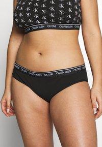 Calvin Klein Underwear - ONE PLUS - Slip - black - 0