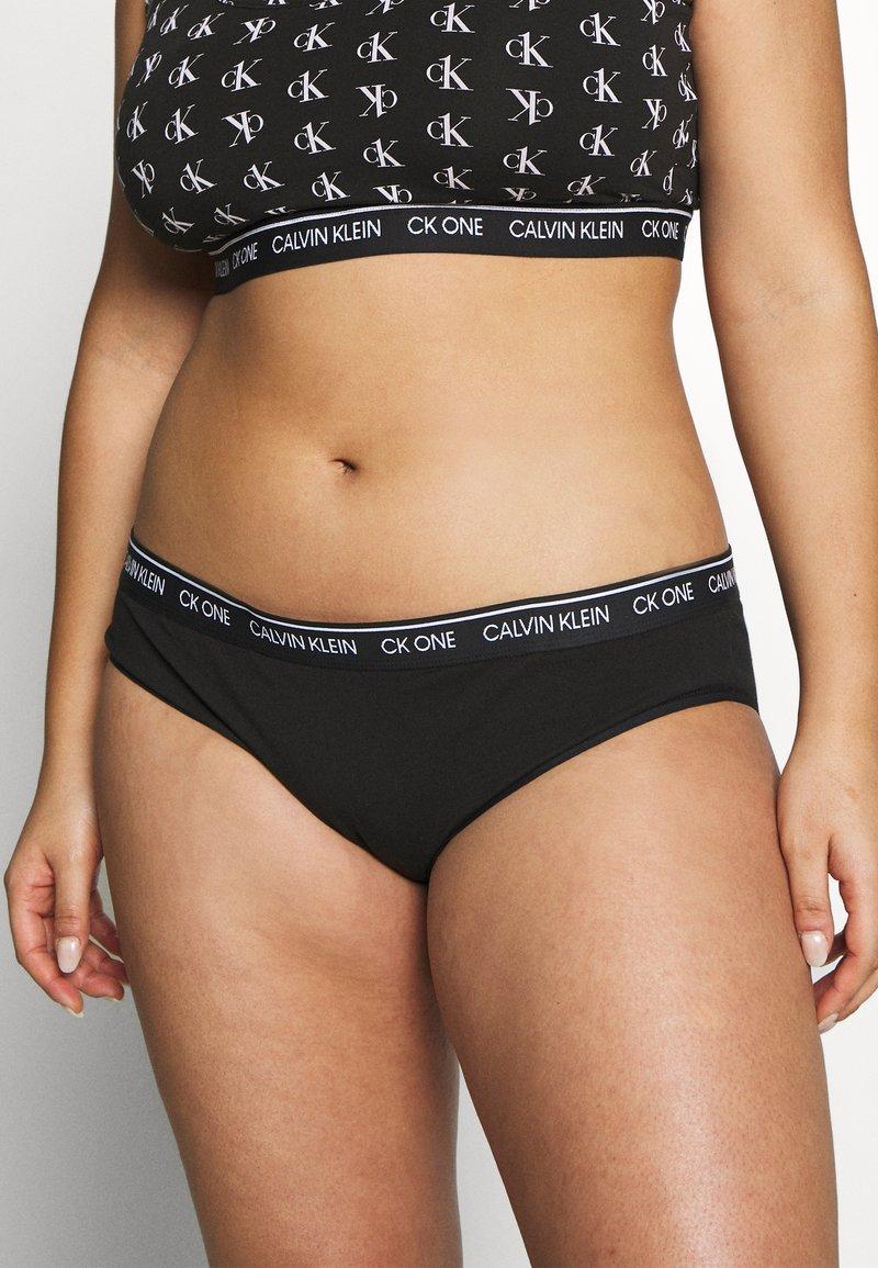 Calvin Klein Underwear - ONE PLUS - Slip - black
