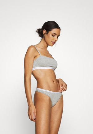 THONG 2 PACK - Tanga - grey heather