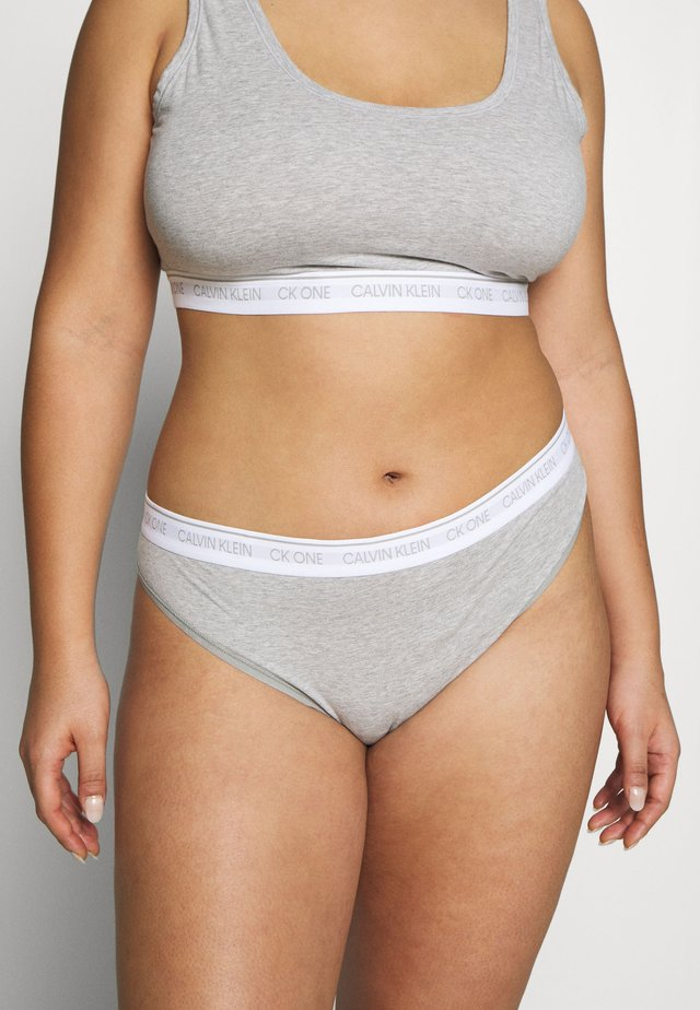 ONE PLUS THONG - Stringit - grey heather