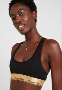 Calvin Klein Underwear - MODERN BRALETTE SET - Ondergoedset - black/gold ground - 3