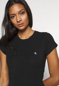 Calvin Klein Underwear - CK ONE LOUNGE JERSEY BODYSUIT (S/S) - Body - black - 4