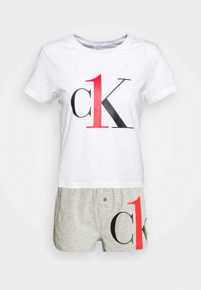 ONE SLEEP PRIDE SET - Pyjama set - white