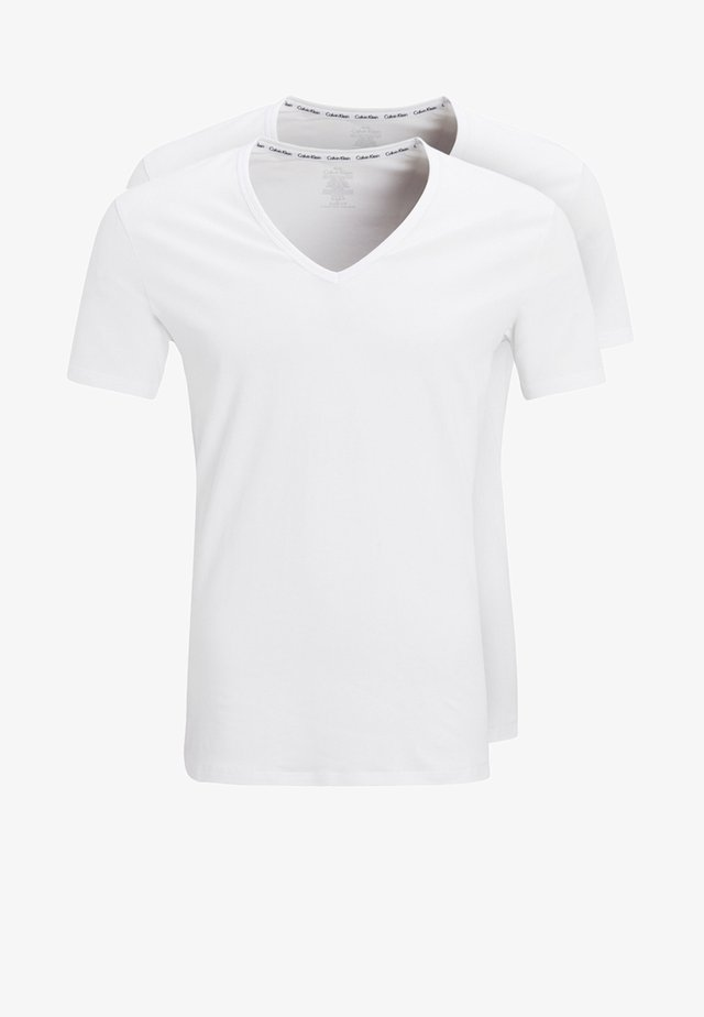 2 PACK - Undershirt - white