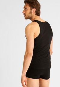 Calvin Klein Underwear - 2 PACK - Hemd - black - 2