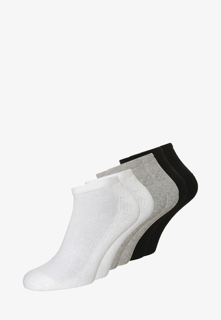Calvin Klein Underwear - BONUS LINER 6 PACK - Socken - white/oxford heather/black