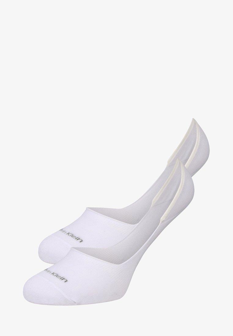 Calvin Klein Underwear - 2 PACK - Füßlinge - white
