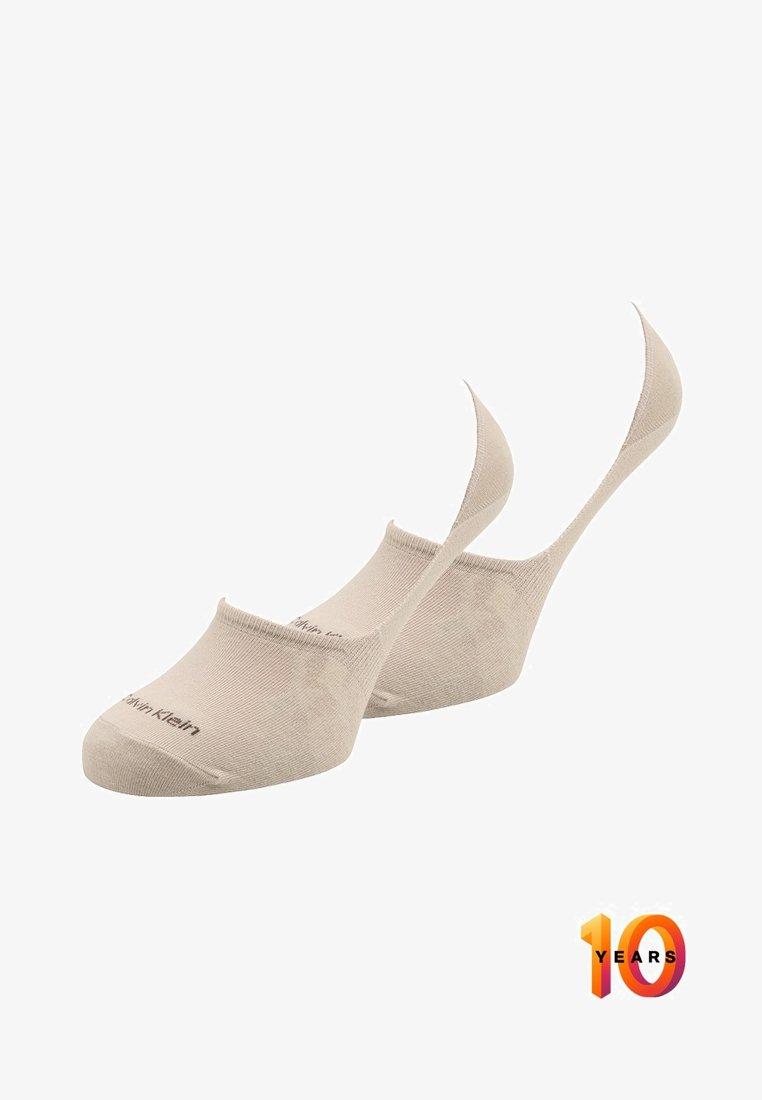 Calvin Klein Underwear - 2 PACK - Trainer socks - sand