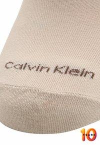 Calvin Klein Underwear - 2 PACK - Trainer socks - sand - 2