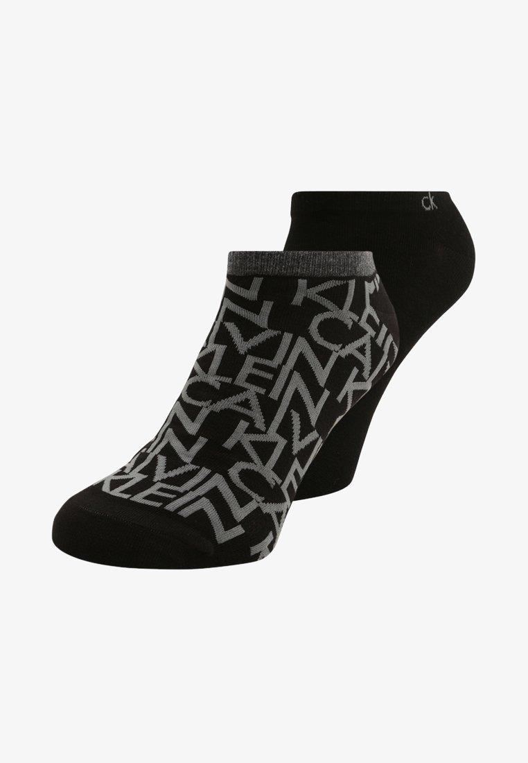 Calvin Klein Underwear - DEANGELO 2 PACK - Strømper - black