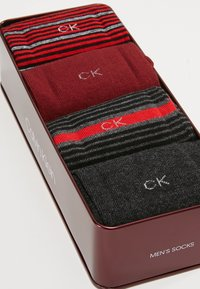 Calvin Klein Underwear - 4 PACK - Sukat - dark red/black/bordeaux - 2