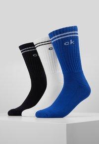 Calvin Klein Underwear - SPORT MULTI 3 PACK - Sukat - dark blue/ white/ black - 0