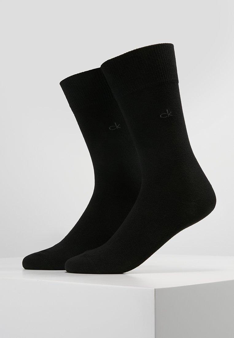 Calvin Klein Underwear - CASUAL FLAT 2 PACK - Strømper - black