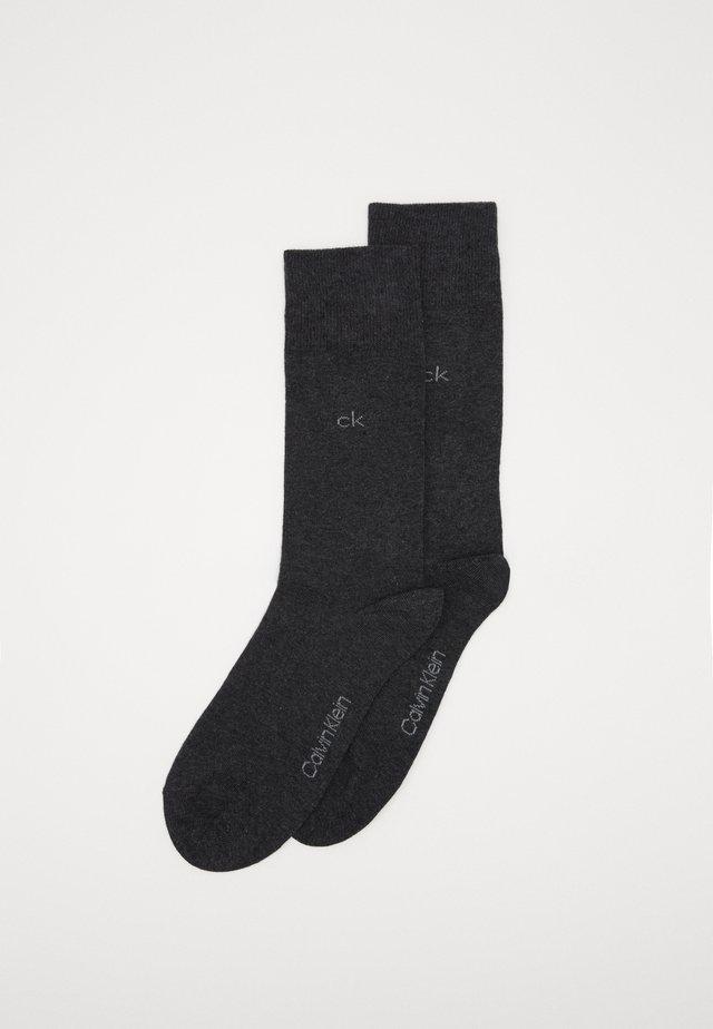 MEN CREW CASUAL 2 PACK - Socks - dark grey