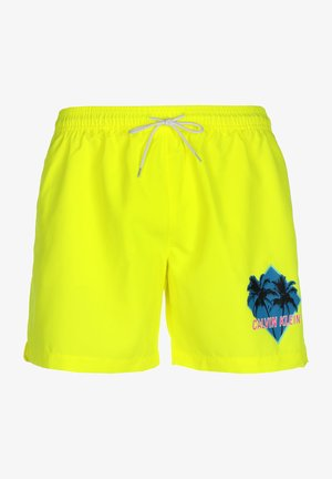 BADESHORTS MEDIUM DRAWSTRING - Shorts - yellow