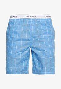 Calvin Klein Underwear - SLEEP SHORT - Pyjamabroek - blue - 3