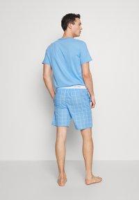 Calvin Klein Underwear - SLEEP SHORT - Pyjamabroek - blue - 2