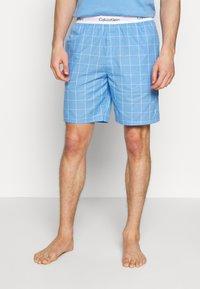 Calvin Klein Underwear - SLEEP SHORT - Pyjamabroek - blue - 0