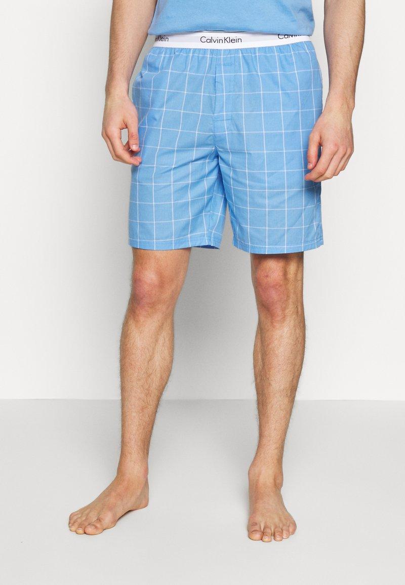 Calvin Klein Underwear - SLEEP SHORT - Pyjamabroek - blue