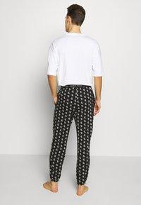 Calvin Klein Underwear - CK ONE JOGGER PYJAMA BOTTOMS - Pyjamabroek - black - 2