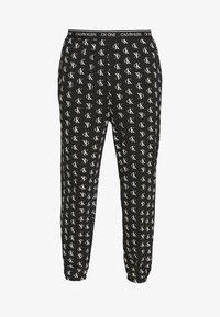 Calvin Klein Underwear - CK ONE JOGGER PYJAMA BOTTOMS - Pyjamabroek - black - 3
