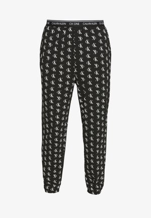 CK ONE JOGGER PYJAMA BOTTOMS - Pyjama bottoms - black
