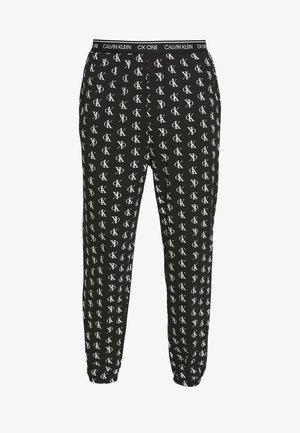 CK ONE JOGGER PYJAMA BOTTOMS - Pyjamasbukse - black