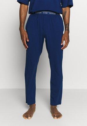 CK ONE SLEEP PANT - Spodnie od piżamy - blue