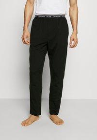 Calvin Klein Underwear - CK ONE SLEEP PANT - Pyjamabroek - black - 0