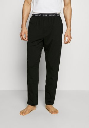 CK ONE SLEEP PANT - Pyjamabroek - black