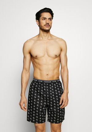 CK ONE SLEEP SHORT  - Bas de pyjama - black