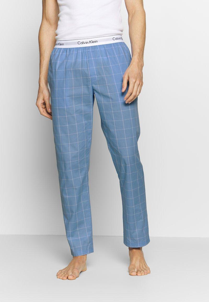 Calvin Klein Underwear - SLEEP PANT - Pantalón de pijama - blue