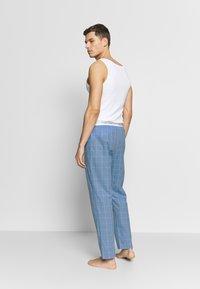 Calvin Klein Underwear - SLEEP PANT - Pantalón de pijama - blue - 2