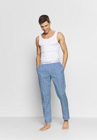 Calvin Klein Underwear - SLEEP PANT - Pantalón de pijama - blue - 1