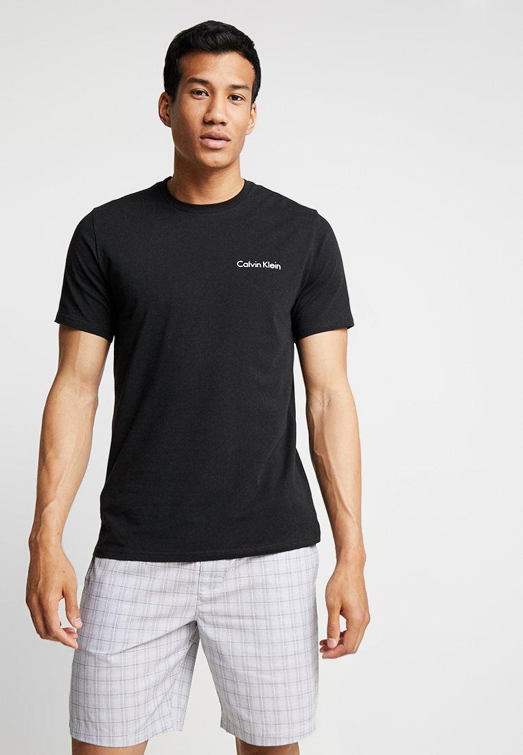 Calvin Klein Underwear - SHORT CREW SET - Nattøj sæt - black