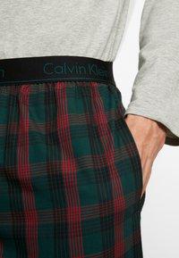 Calvin Klein Underwear - WOVEN PANT SET - Pijama - grey - 4