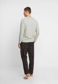 Calvin Klein Underwear - WOVEN PANT SET - Pijama - grey - 2