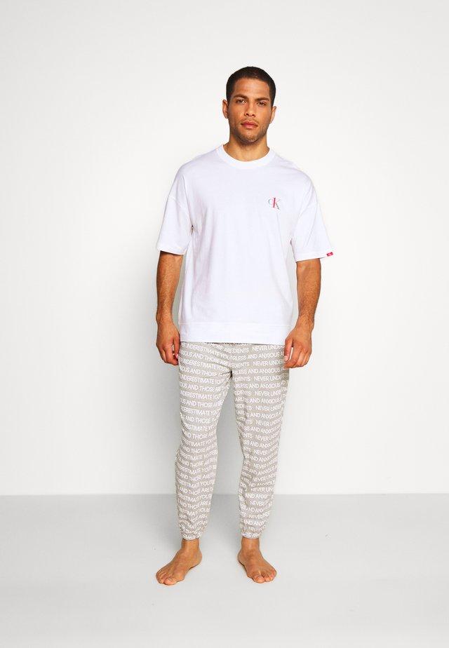 CK ONE SET - Pyjamas - white