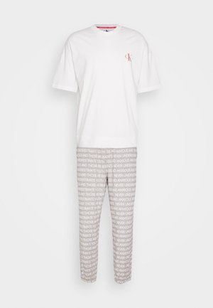 CK ONE SET - Pigiama - white