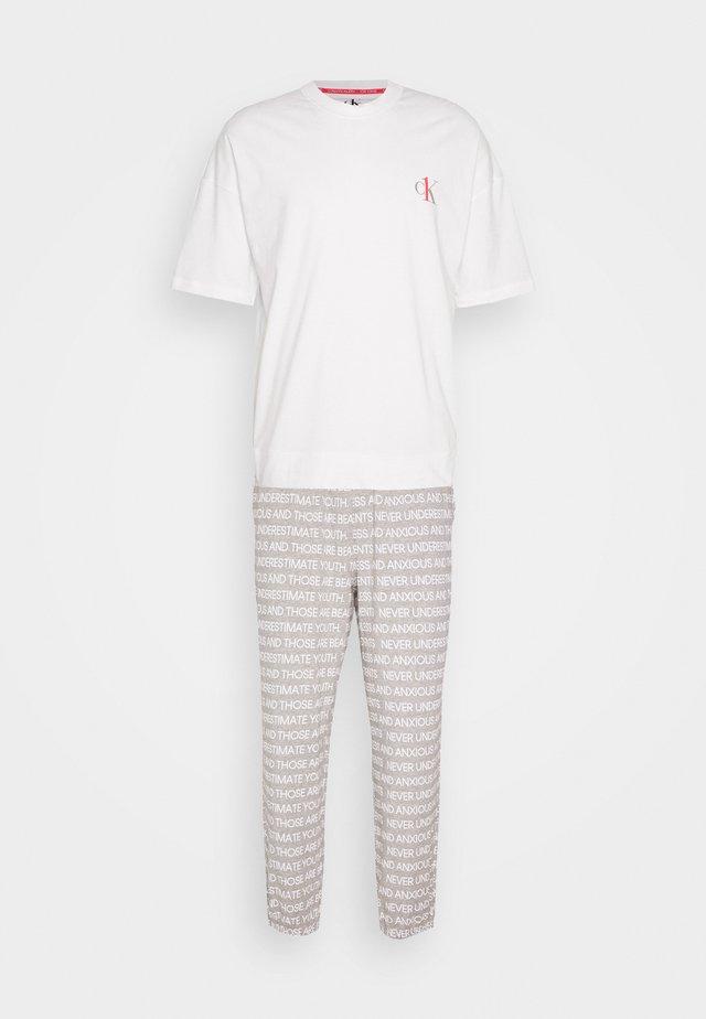 CK ONE SET - Pyjama - white