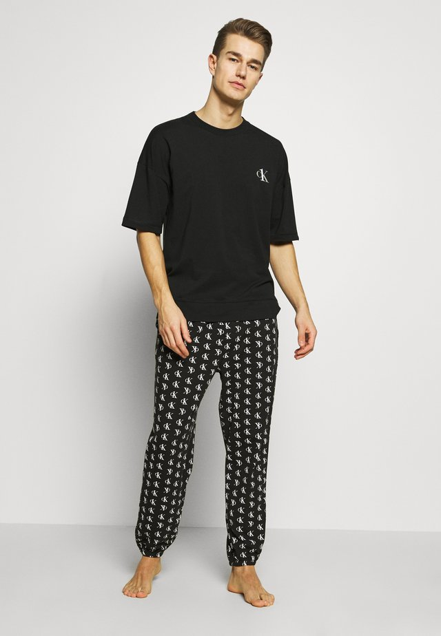 CK ONE SET - Pyjamas - black