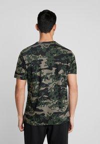 Calvin Klein Underwear - CREW NECK - Camiseta de pijama - khaki - 2