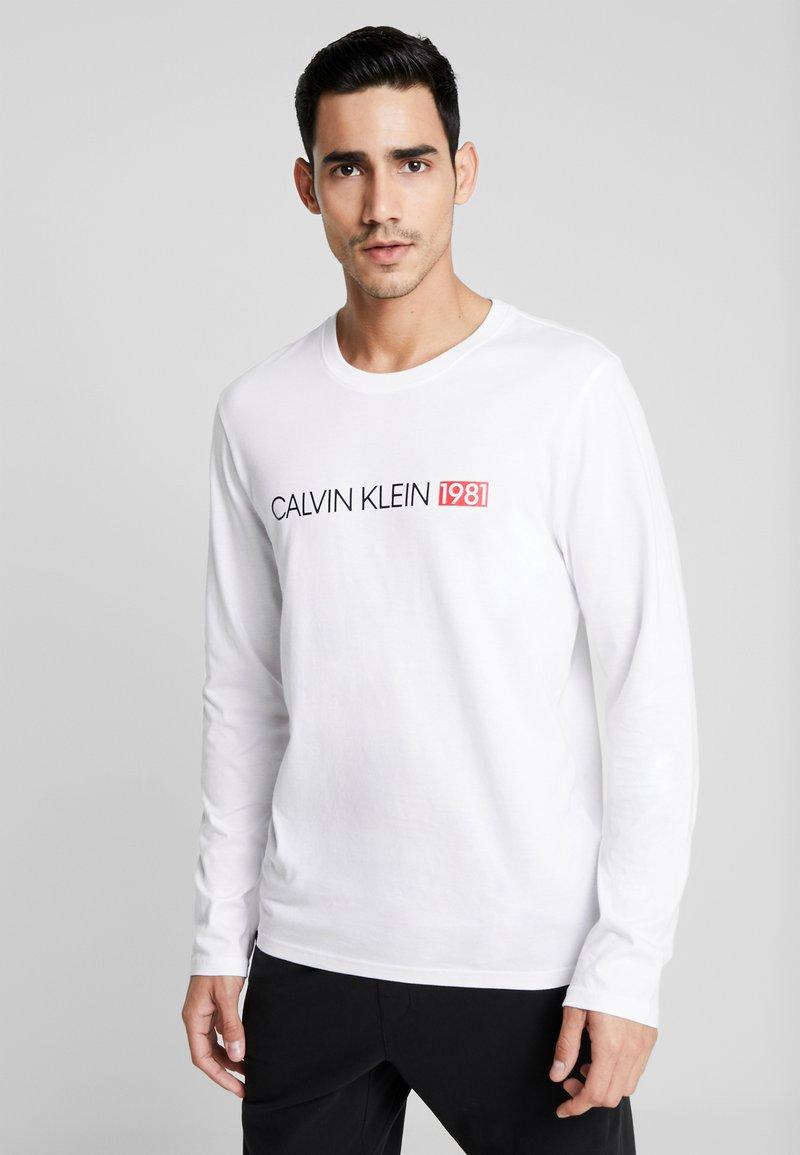 Calvin Klein Underwear - CREW NECK - Camiseta de pijama - white